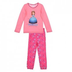 pyjama long princesse Sofia rose