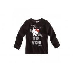 Hello Kitty T-shirt  noir