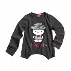 Hello Kitty T-shirt manches longues gris