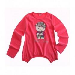 Hello Kitty T-shirt manches longues fushia