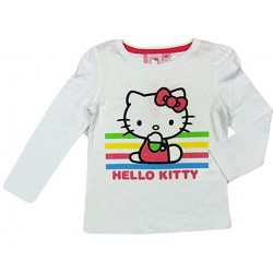 T-shirt Hello Kitty blanc