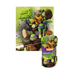 1 Plaid polaire Tortues Ninja TMNT