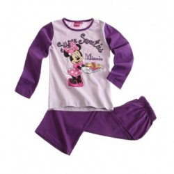 Pyjama Parme Disney Minnie