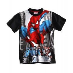 Tshirt noir Spiderman