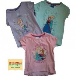 Lot de 3 T-shirts  Reine...