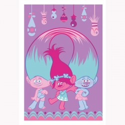Trolls Plaid Couverture en...