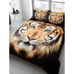 Parure de lit Tigre housse...