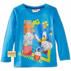 SONIC - T-shirt bleu ciel...