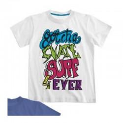 T-shirt imprimé fantaisie -...