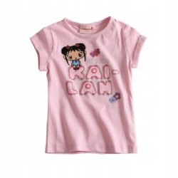 Kai Lan T-shirt rose