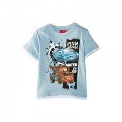 T-shirts CARS Bleu