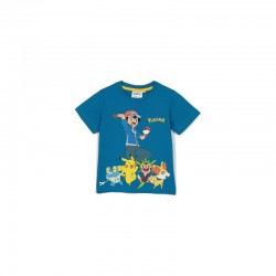 T-shirt POKEMON bleu
