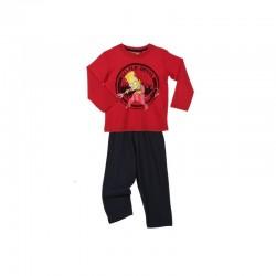 Pyjama Simpson rouge