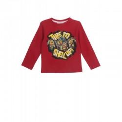 T-shirt  Tortues NINJA rouge