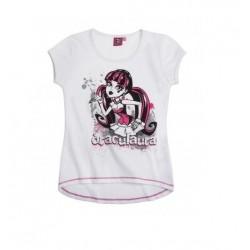 T-shirt Monster High blanc