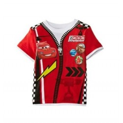 T-shirts CARS Rouge