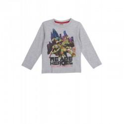 T-shirt  Tortues NINJA gris