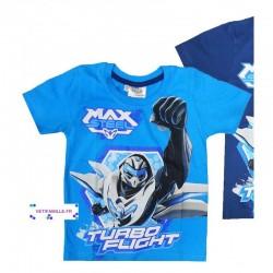 Tshirt MAX STEEL  Bleu Ciel
