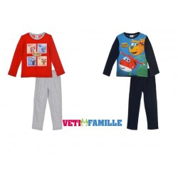 pyjama long super wings - boys