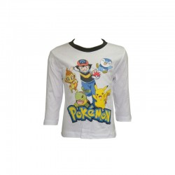 POKEMON - T-shirt manche...