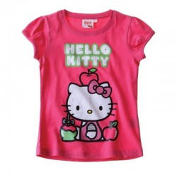 T-shirt HELLO KITTY Fushia