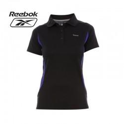 Polo Reebok noir pour femme