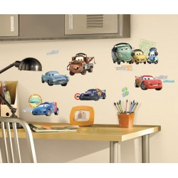 Cars 2 - 25 Stickers...