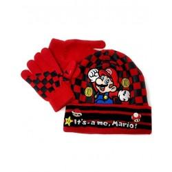Mario Bros ensemble rouge...