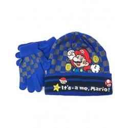 Mario Bros ensemble bleu...