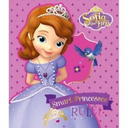 Plaid polaire Princesse SOFIA