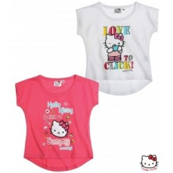 LOT 2 T-Shirts Hello Kitty
