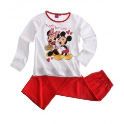 Pyjama Rouge Disney Minnie