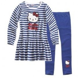 Ensemble Hello Kitty bleu