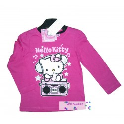 T-shirt Hello Kitty rose
