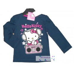 T-shirt Hello Kitty bleu