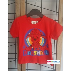 T-shirt rouge La Pat...