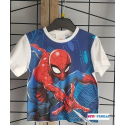 T-shirt blanc Spiderman...