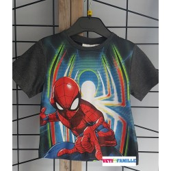 T-shirt gris Spiderman...