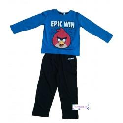 Pyjama Angry Birds bleu